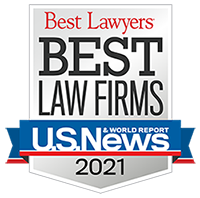 US News Best Law Firms 2021 Badge 200
