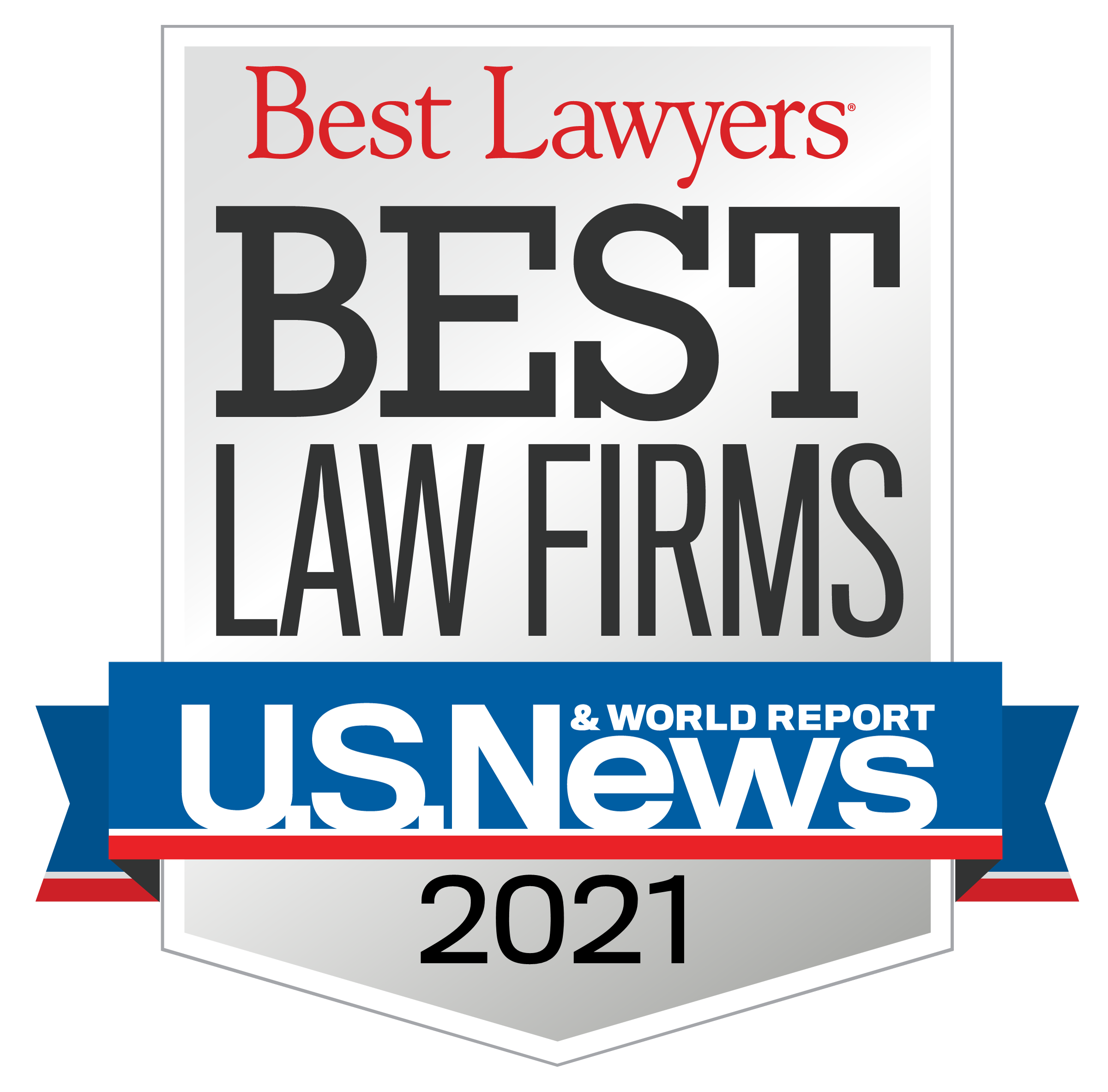 US News Best Law Firms 2021 Badge
