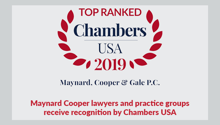 39 Maynard Cooper & Gale Attorneys And 8 Practice Groups